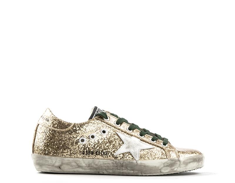 Scarpe Schuhe GOLDEN GOOSE Frau ORO Glitter G29WS590-B75