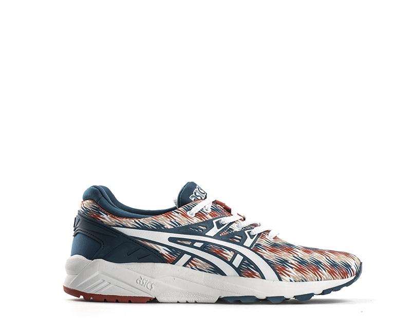 Schuhe ASICS Mann BIANCO/BLU PU,Stoff H6C3N-4501