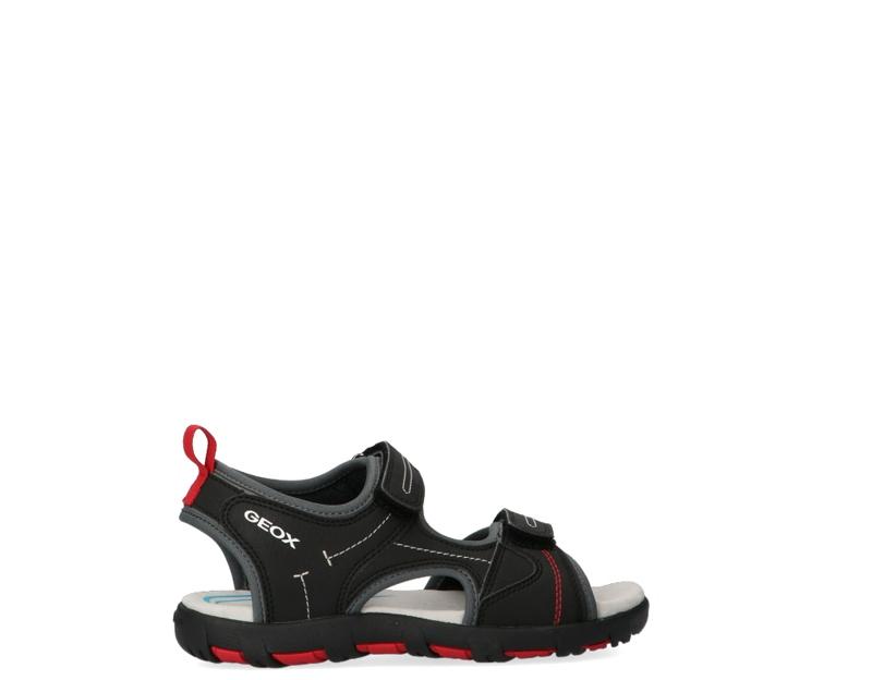 Asumir lanza color  Zapatos GEOX Niños NERO/ROSSO J0264A-0CE15-C0048S   eBay