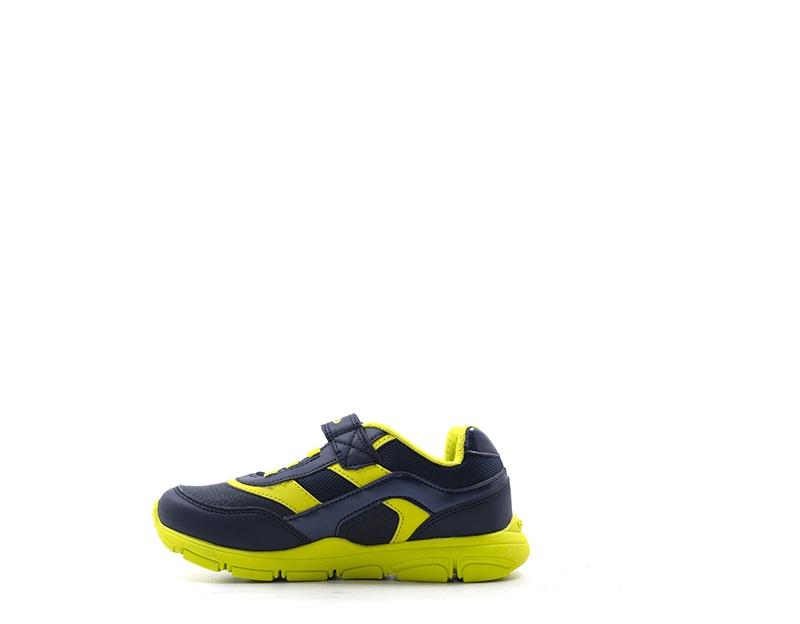 cc3835b217 J847na tessuto Pu Su 054fu Blu Bambini Sneakers C0749 Scarpe Geox ...