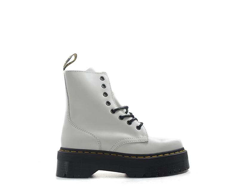 Détails sur Chaussures DR. MARTENS Femme BIANCO Cuir naturel JADON 15265100