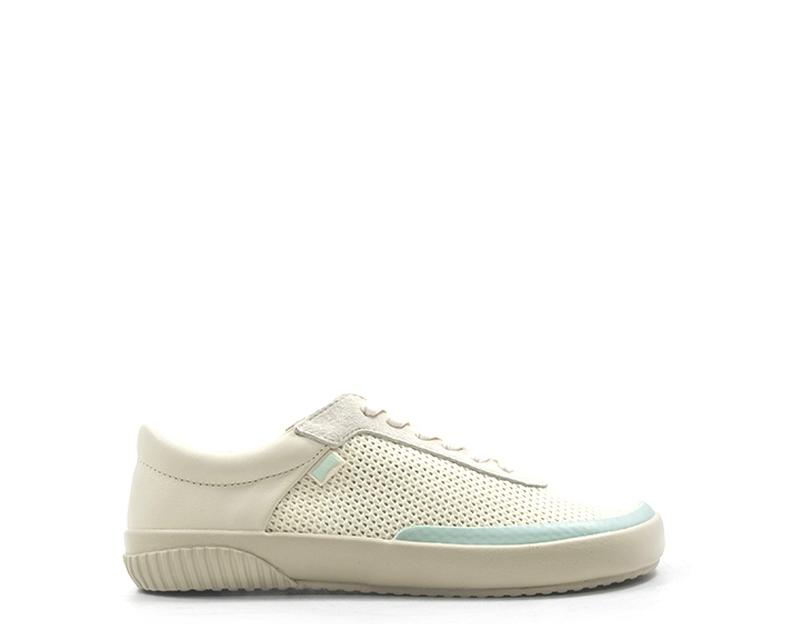 BIANCO CAMPER Zapatos Detalles Mujer Tela de Gamuza 001 K200806 SMUzpV
