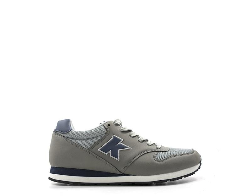 differently 3aecc f75c3 Dettagli su Scarpe KRONOS Uomo Sneakers trendy GRIGIO PU,Tessuto KR813201-02