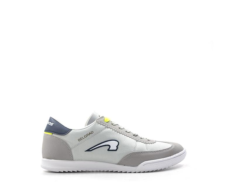 the latest 1275f 7e45b Dettagli su Scarpe KRONOS Uomo Sneakers trendy GRIGIO PU,Tessuto KR815429-06