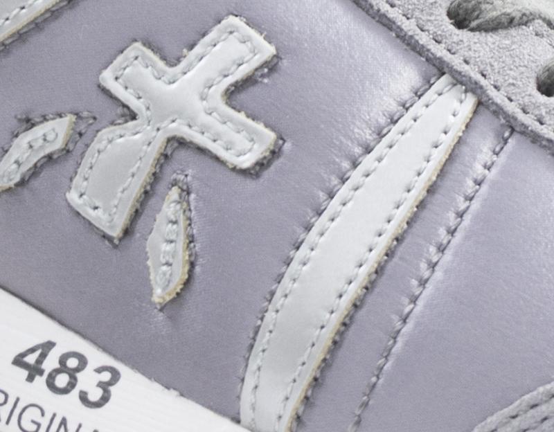 Scarpe PREMIATA Donna Sneakers Trendy  GRIGIO Scamosciato,Tessuto LUCYD-3425