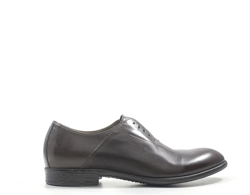 Zapatos hundrojo 100 hombre de naturaleza marrón cuero m087-02-tm