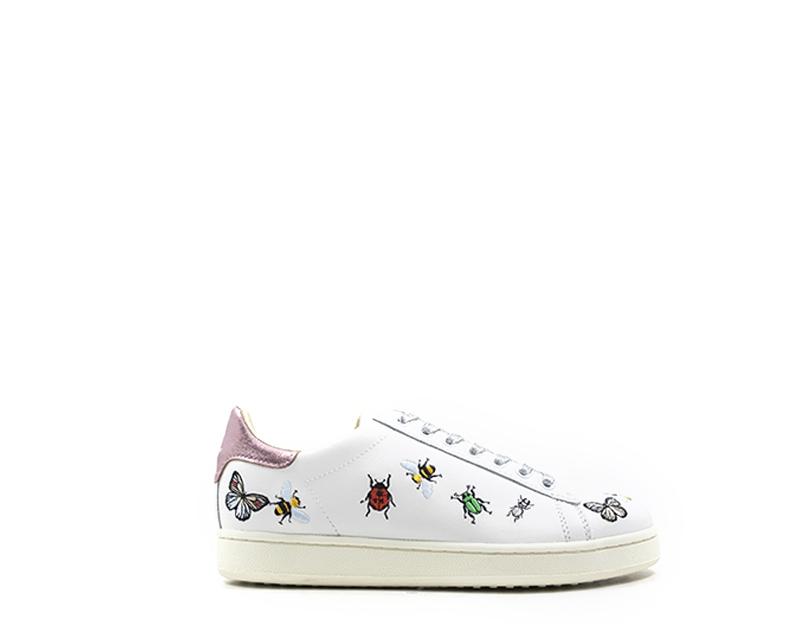 data di rilascio: a3192 817a6 Dettagli su Scarpe MOA MASTER OF ARTS Donna Sneakers Trendy BIANCO Pelle  naturale M743