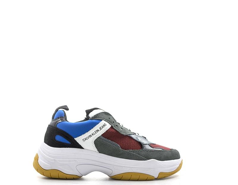 c2e42eb5d6a Homme Calvin tissu Grigio Klein Chaussures Marvin Naturel Cuir PwUxzUdE