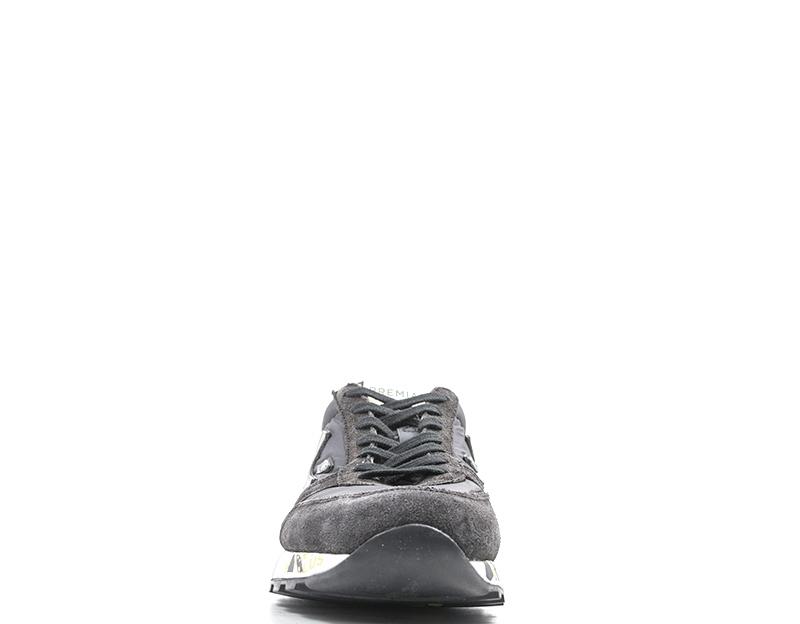 Dettagli su Scarpe PREMIATA Uomo Sneakers trendy GRIGIO Scamosciato,Tessuto MICK 2323G