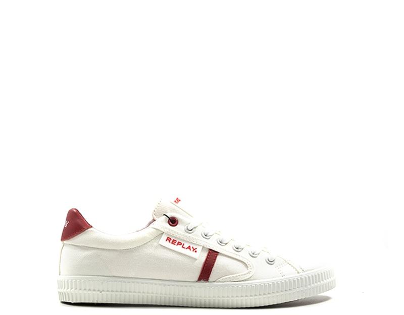 Adidas sneakers uomo biancorosso quellogiusto grigio pelle