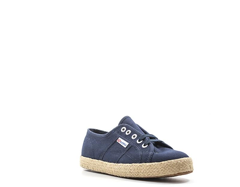 Schuhe SUPERGA Frau BLU Stoff S00BVJ0-933