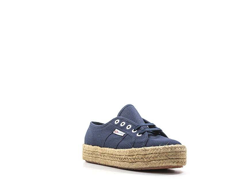 Schuhe SUPERGA Damenschuhe BLU BLU Damenschuhe Tessuto S00CF20-933 b075f9