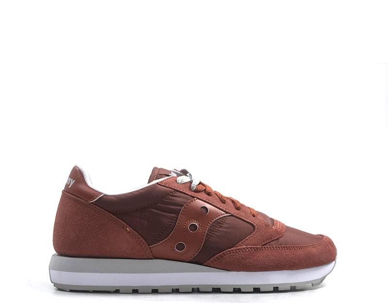 zapatos SAUCONY hombres zapatillas  rojo Scamosciato,Tessuto S2044-386
