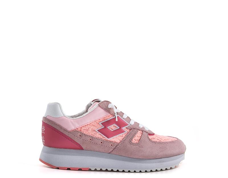 Scarpe LOTTO LEGGENDA Donna Sneakers ROSA Pelle naturale 70f6f7b044e