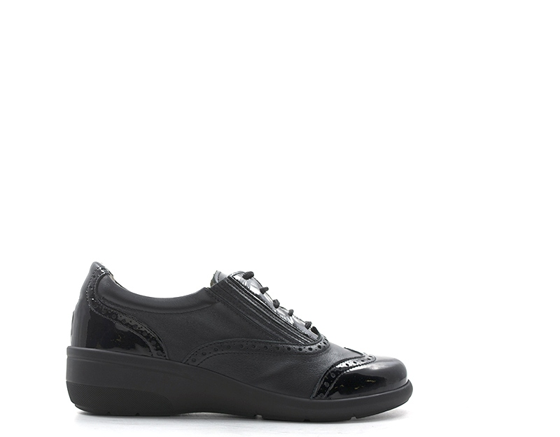 23e15b199205b Scarpe GRUNLAND Donna Sneakers Trendy NERO Pelle naturale SC392168DOTA-NE