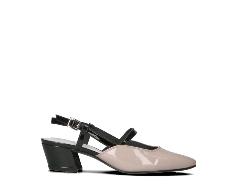 zapatos WHAT FOR mujer Sandali Bassi  negro Pelle naturale SS19WF028-NU
