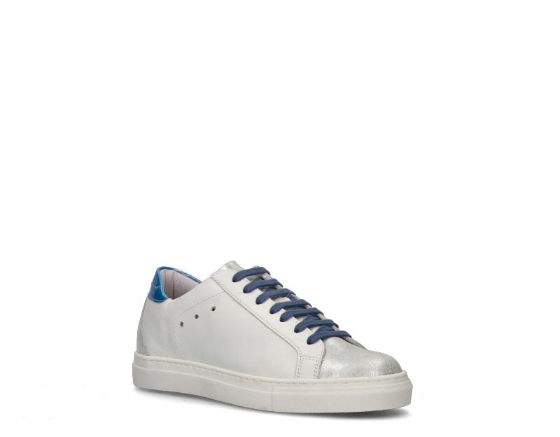 Zapatos-EASY-PEASY-Mujer-BIANCO-BLU-SUPRIME-BIANCA8 miniatura 2