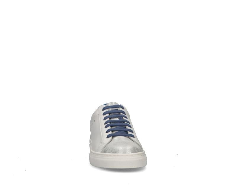 Zapatos-EASY-PEASY-Mujer-BIANCO-BLU-SUPRIME-BIANCA8 miniatura 3