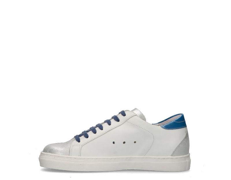 Zapatos-EASY-PEASY-Mujer-BIANCO-BLU-SUPRIME-BIANCA8 miniatura 4