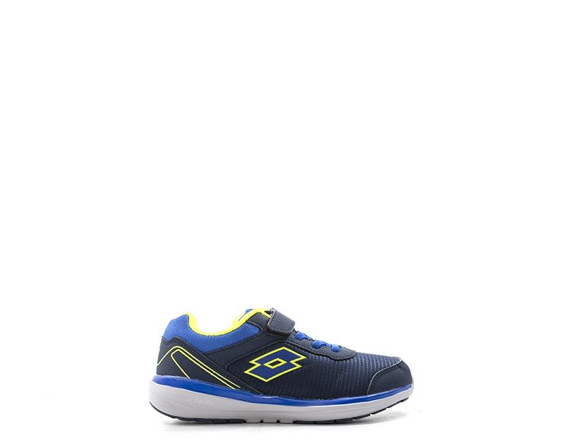 shoes LOTTO Bambini Running women  bluee PU,Tessuto T6679
