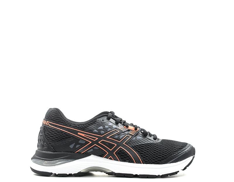 Détails sur Chaussures ASICS Femme Running NERO Tissu T7D8N 9006