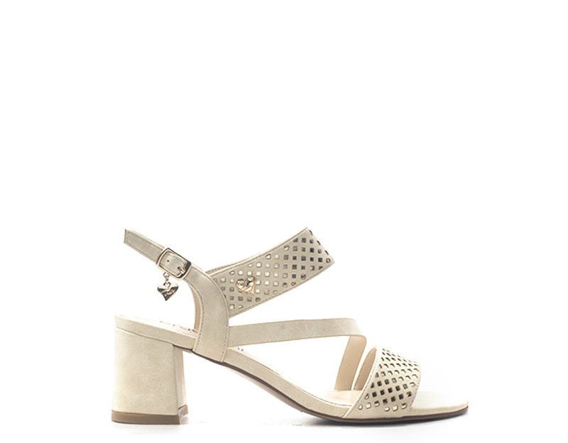 Braccialini woman shoes beige pu ta 308 calf-bes