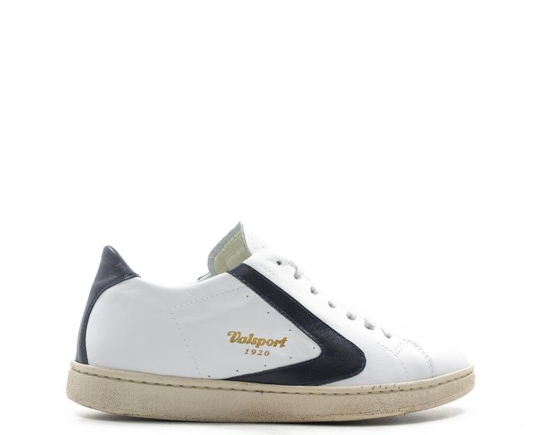 Dettagli su Scarpe VALSPORT Uomo Sneakers trendy BIANCO Pelle naturale TOURNAMENT 201