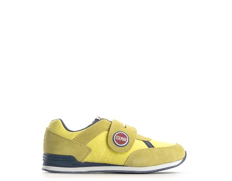 Scarpe COLMAR Bambini Sneakers Trendy GIALLO Scamosciato 0f5c3a35ea0