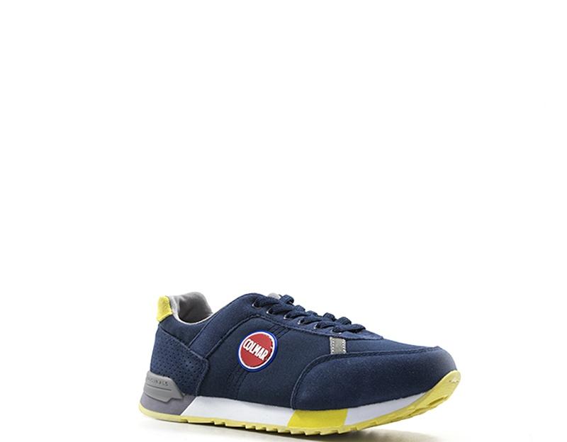 fornire un sacco di nuovo arrivo prima qualità Dettagli su Scarpe COLMAR Bambini Sneakers Trendy BLU TRAVISCOLORS-Y04