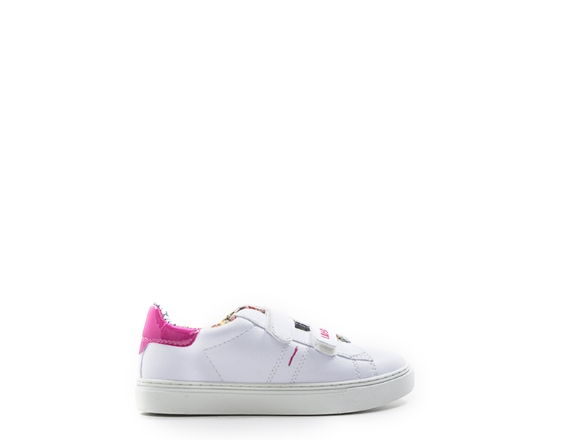 8a33374752ed03 Scarpe LIU JO Bambini Sneakers Trendy BIANCO Pelle naturale UM22915 ...