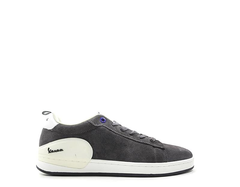 Baby Vespa Man Sneakers Trendy Grigio Fabric V00006-612-9072U