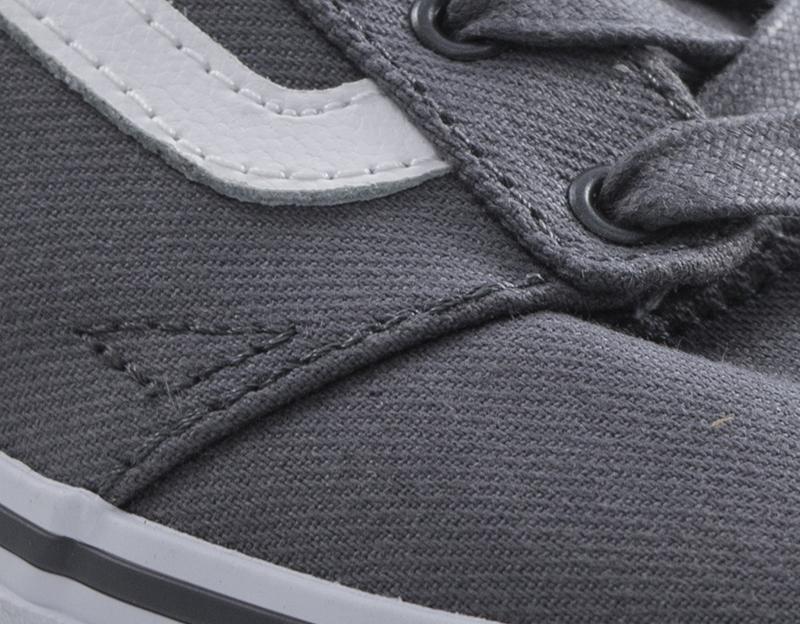 Dettagli su Scarpe VANS Bambini Sneakers Trendy GRIGIO Tessuto VA38J2OKX R
