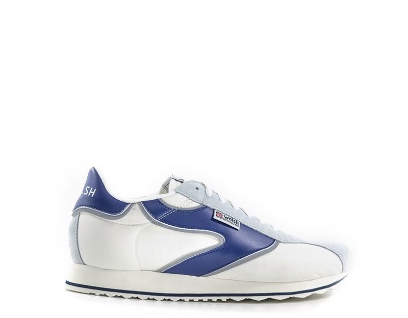 32dcd4cf04 Scarpe WALSH Uomo Sneakers trendy BIANCO/BLU Pelle  naturale,Scamosciato,Tessuto WHSVRN005-VRIPPLE