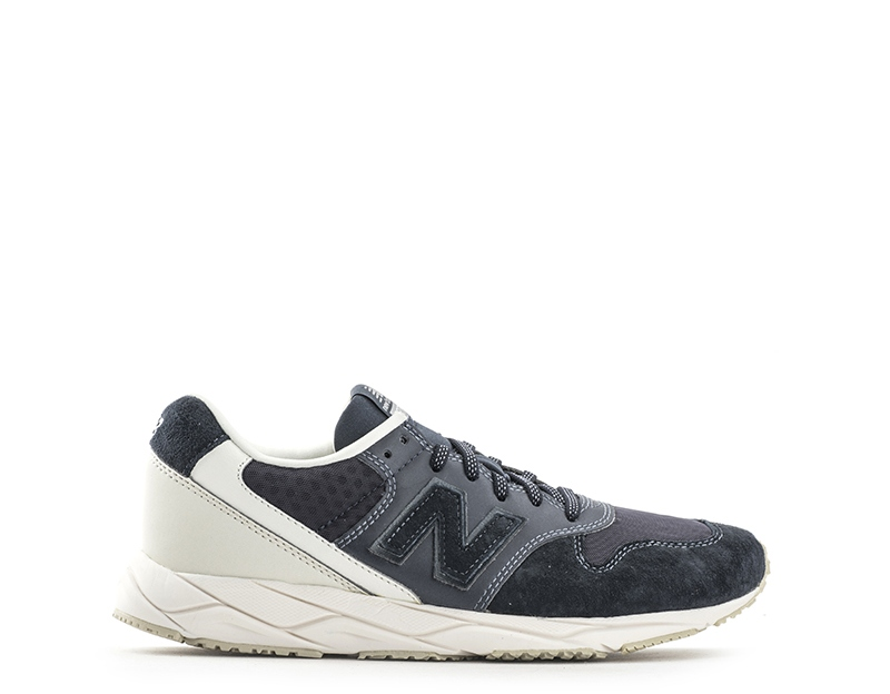Scarpe NEW BALANCE Donna NERO Inserti in pelleScamosciatoTessuto WRT96MC