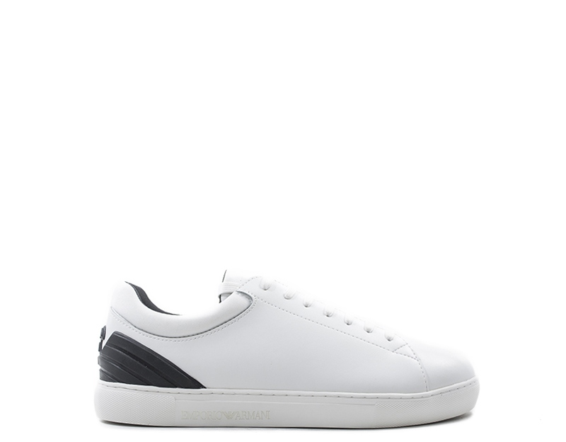 Emporio Trendy Scarpe Pelle Uomo Naturale Bianco pu Sneakers Armani  dZwIUxwCq f2b84366439