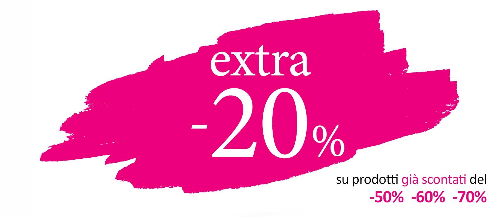 L'EXTRA -20% fa il bis!
