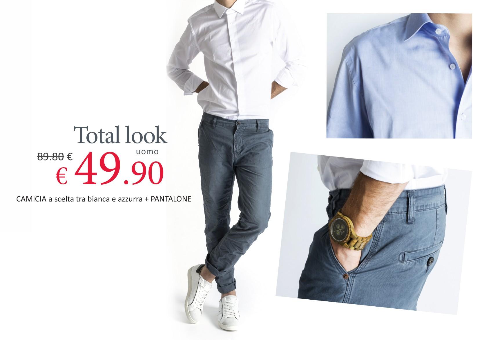 Total Look Uomo a 49,90 euro