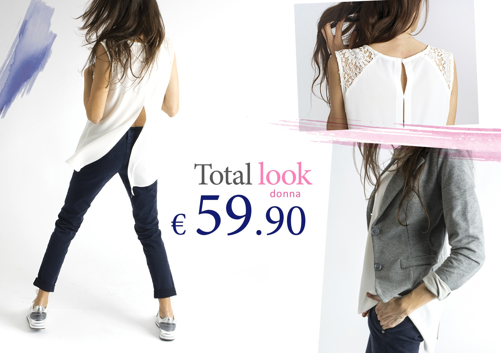 Total look donna a 59,90euro
