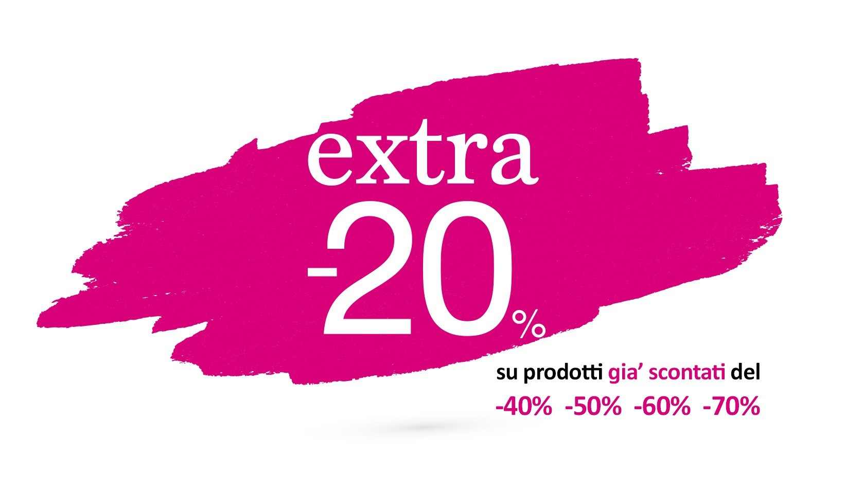 Extra -20% OFF