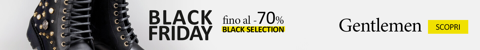 Black Friday 2018 uomo